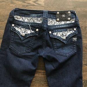 "Miss me Boot cut jeans inseam 30"""